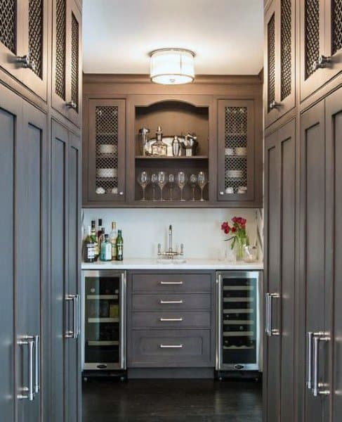 Distinctive Wet Bar Design Ideas