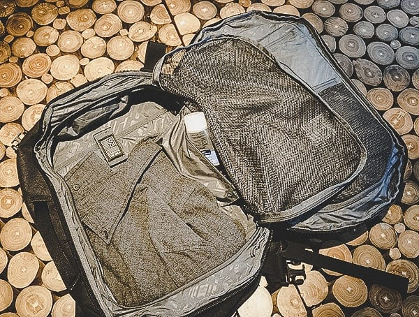 Divided Open Backpack Chrome Industries Summoner Review Of Interior