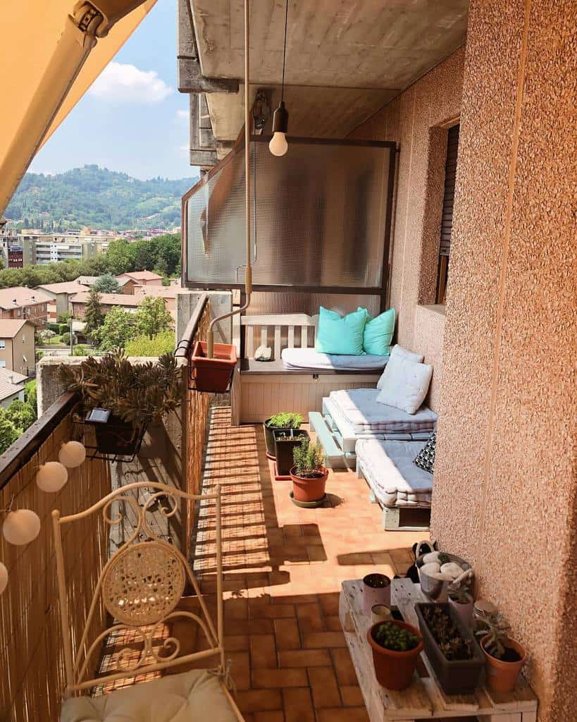 diy apartment patio ideas oursweeethome