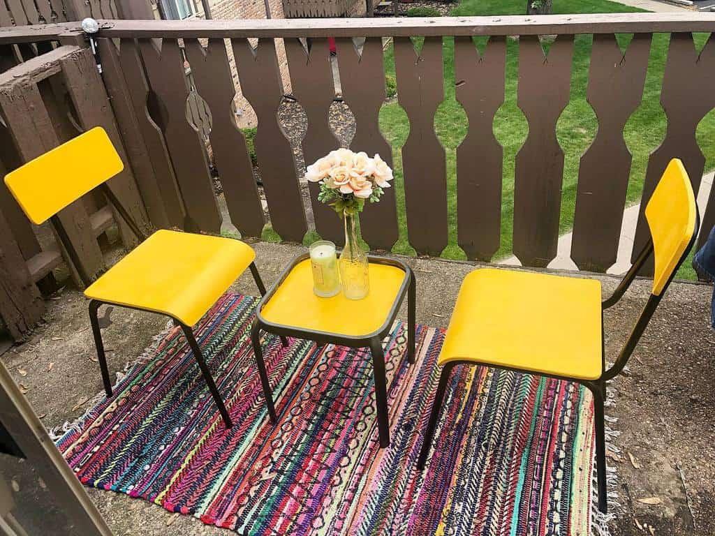 diy apartment patio ideas raylashay7