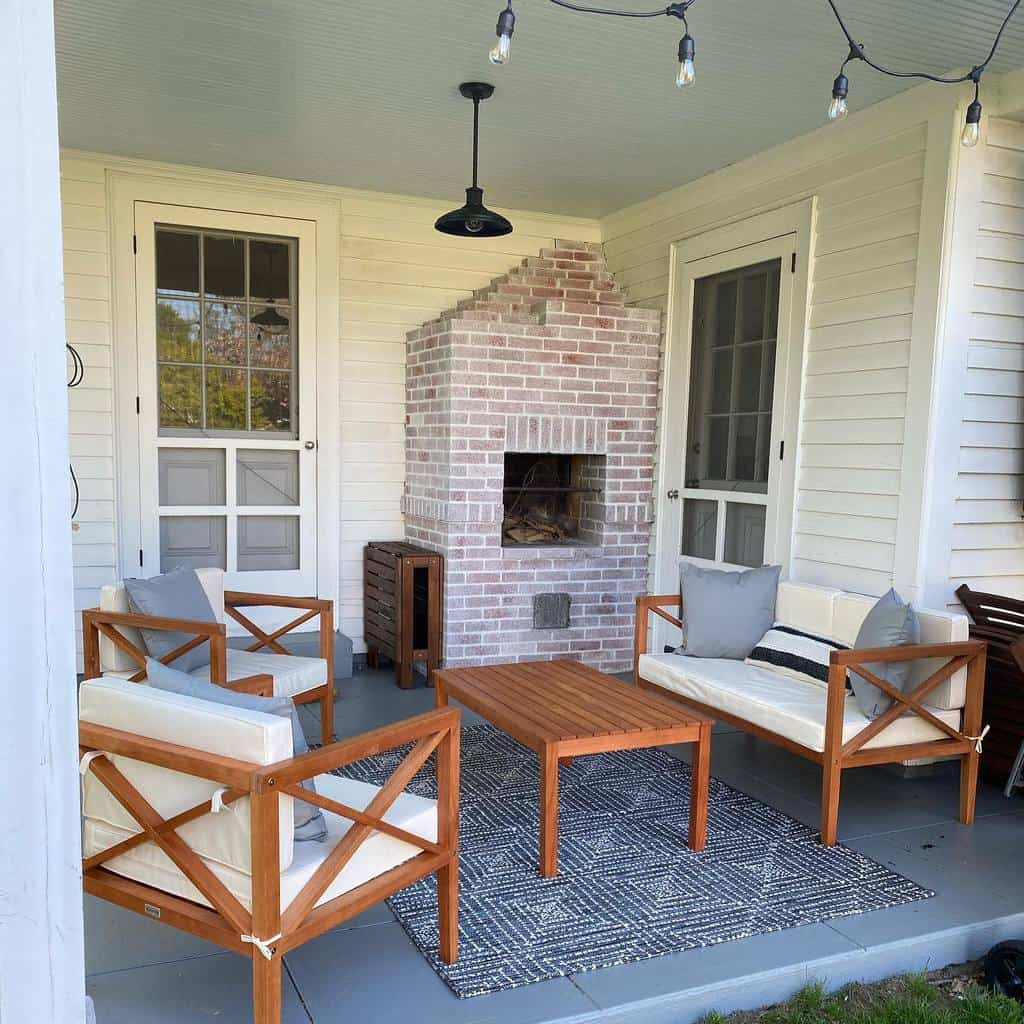 diy covered patio ideas selinadacey