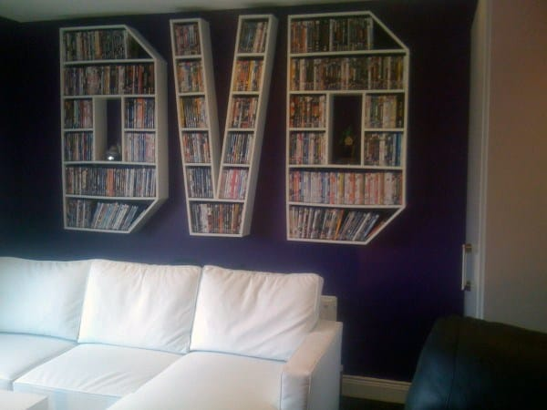 Dvd Storage Ideas Organized Movie Collection Designs