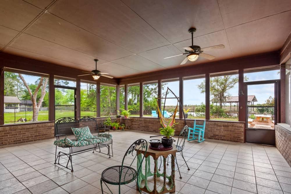 diy enclosed patio ideas 1