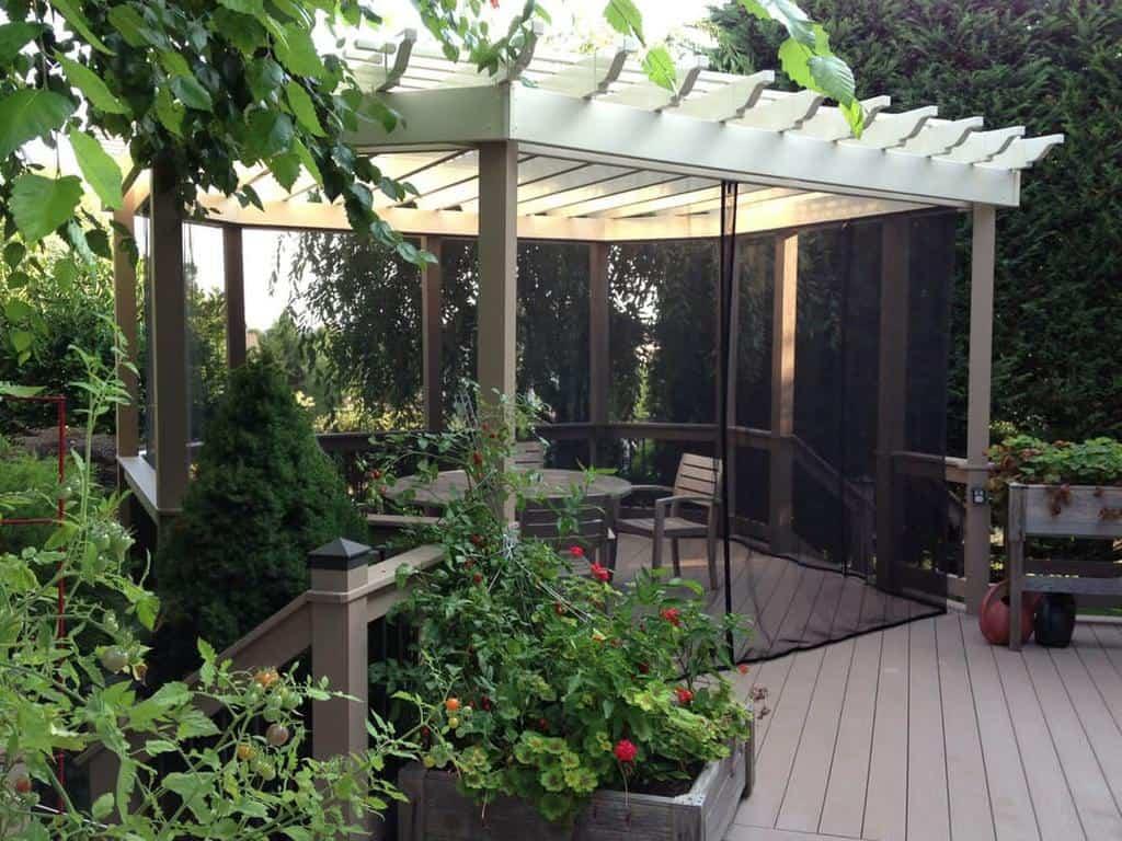 diy enclosed patio ideas mosquitocurtains