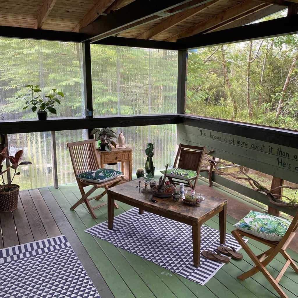 diy enclosed patio ideas philosophicaleggs