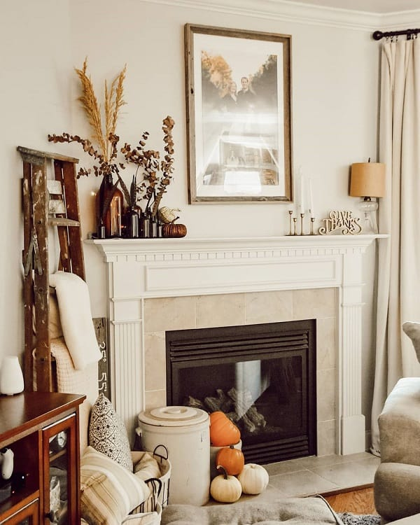 Diy Fireplace Mantel Decor Ideas Carriedawayhome