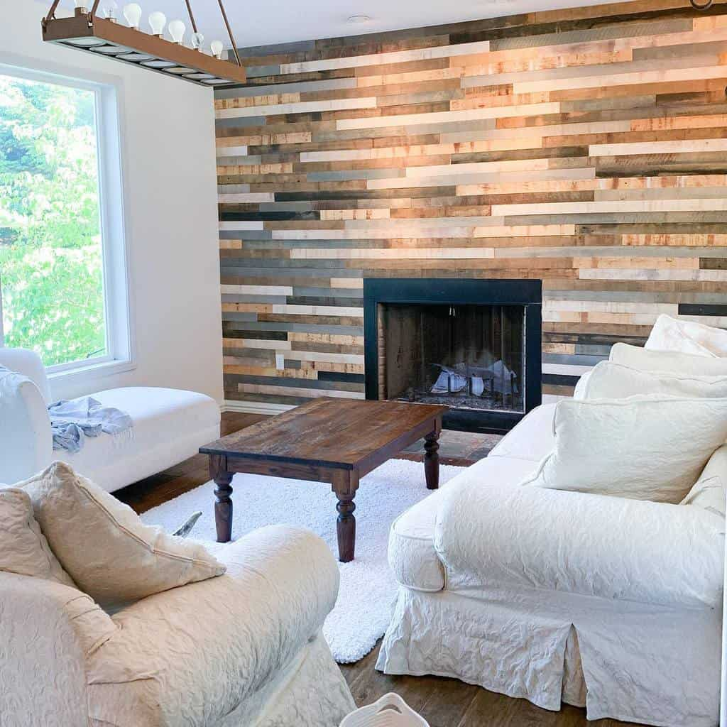 diy fireplace wall ideas christine_the_woodworker