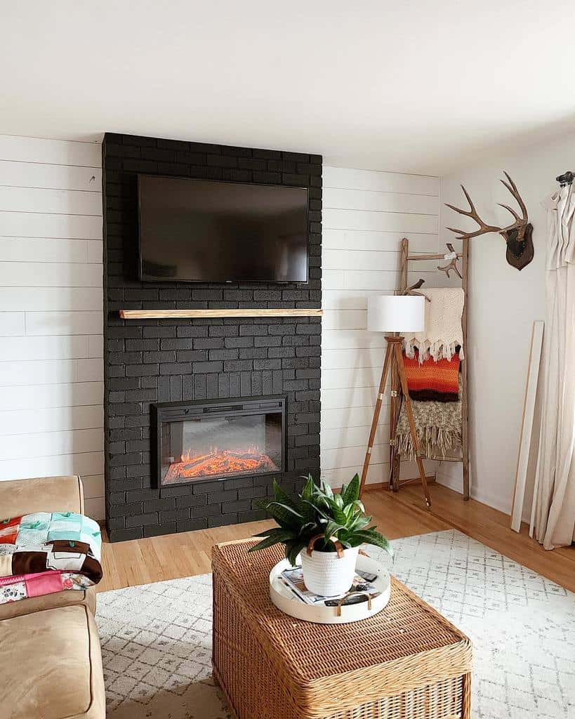 diy fireplace wall ideas homesweetshan