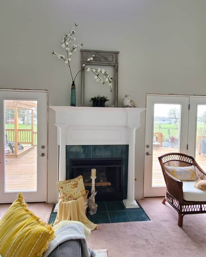 diy fireplace wall ideas thorncreekfarmhouse