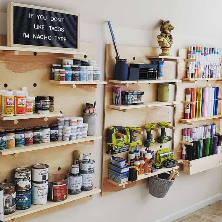 Diy Garage Pegboard Ideas Kandgmakeit