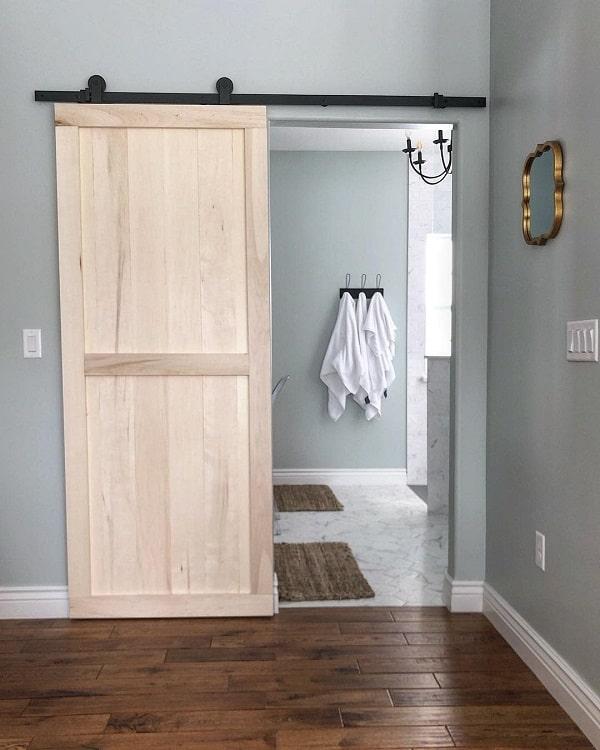 Diy Master Bathroom Barn Door
