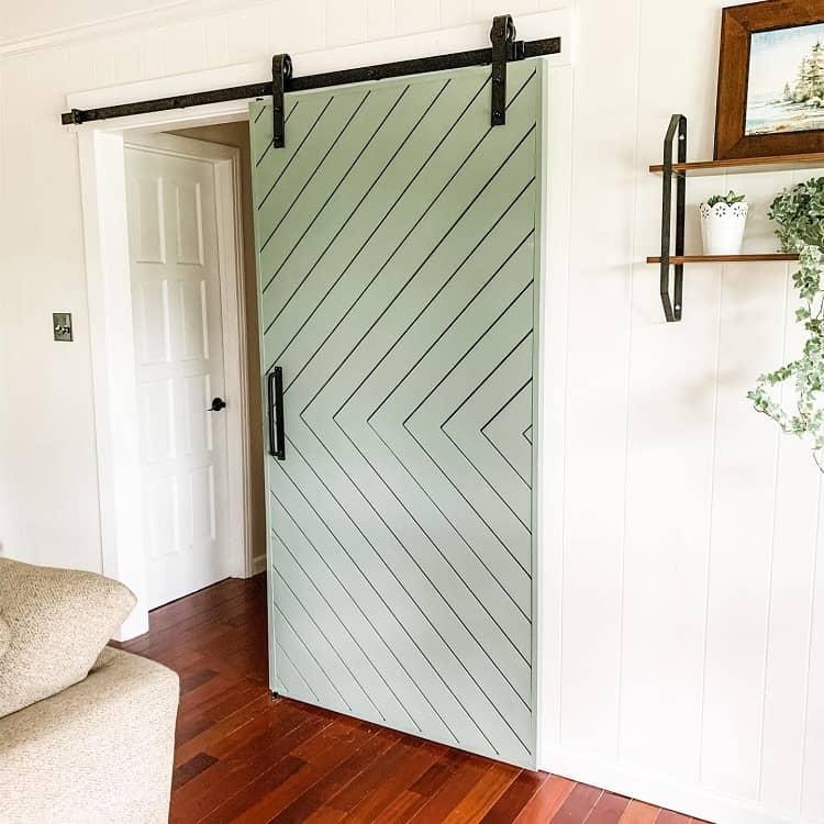 Diy Modern Painted Barn Doors