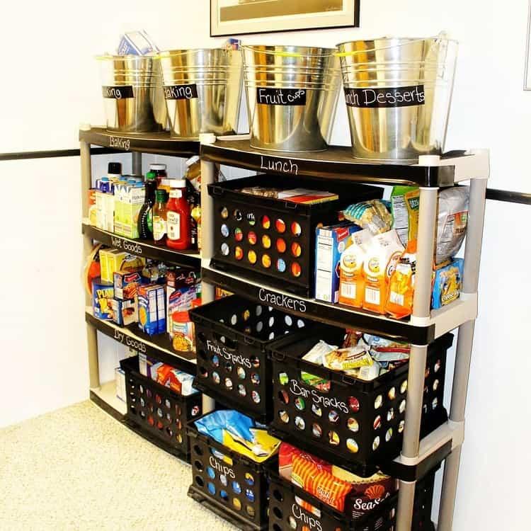Diy Pantry Basement Food Storage