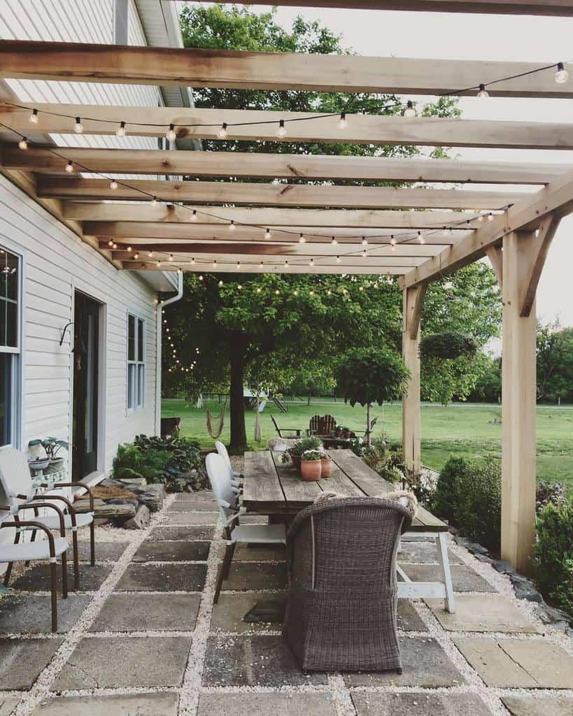 diy patio awning ideas sweetriverdesigns