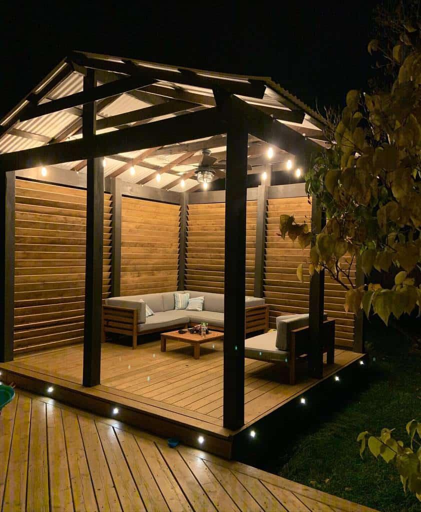 diy patio lighting ideas dashaspassions