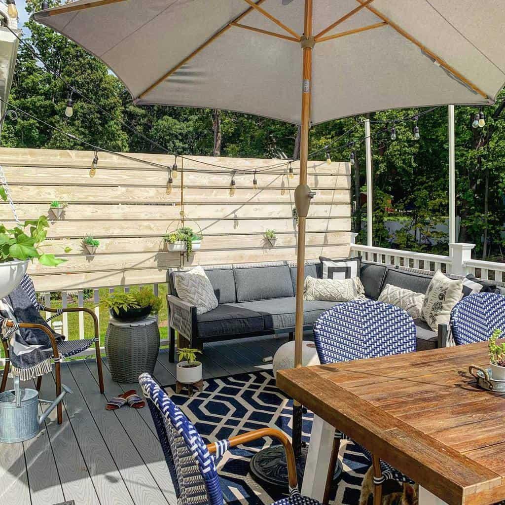 diy patio privacy ideas athomewithjordan