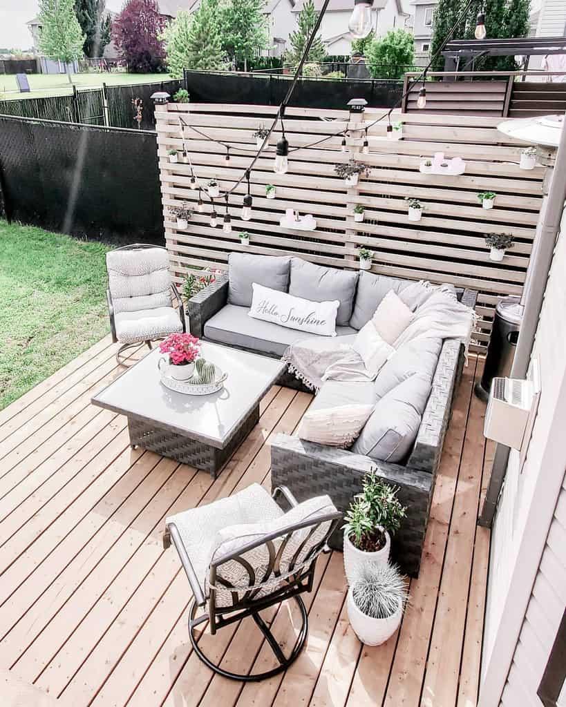 diy patio privacy ideas illustrious_interiors