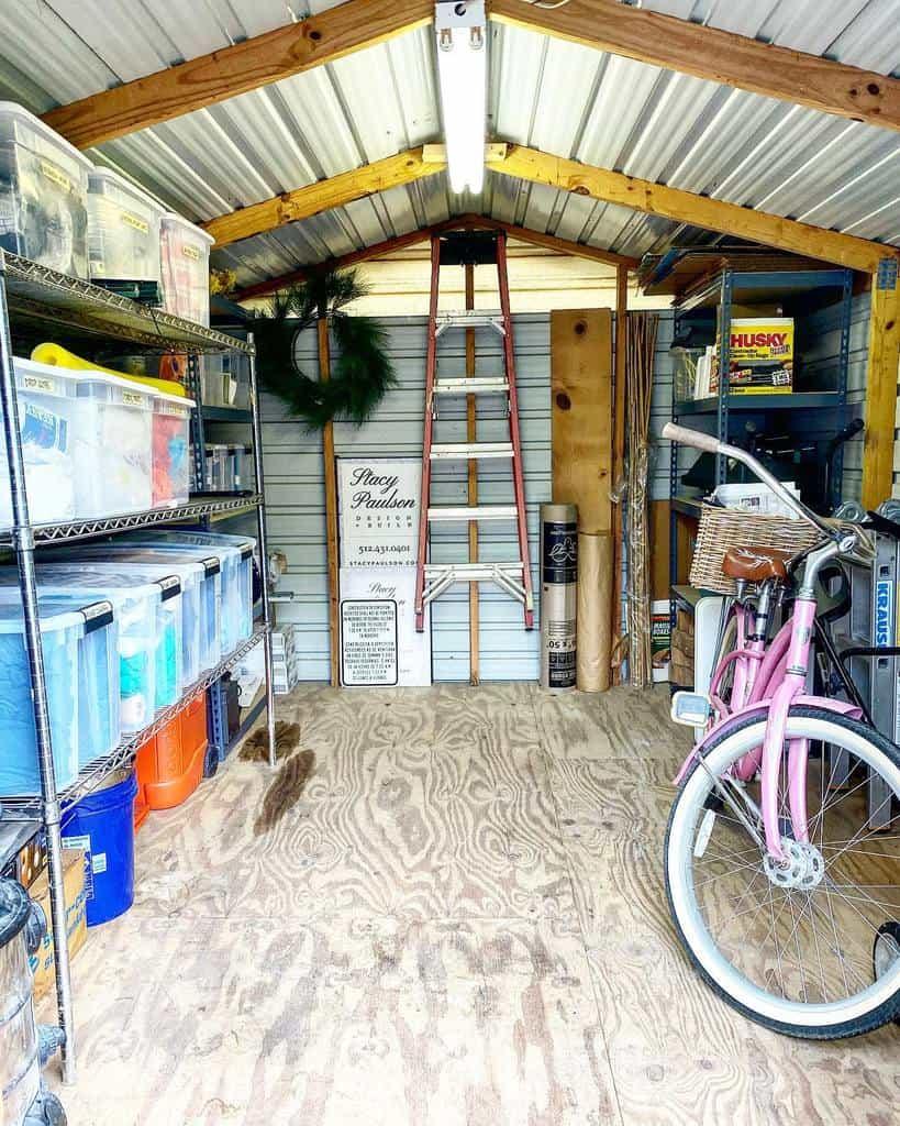 diy shed storage ideas designorganization