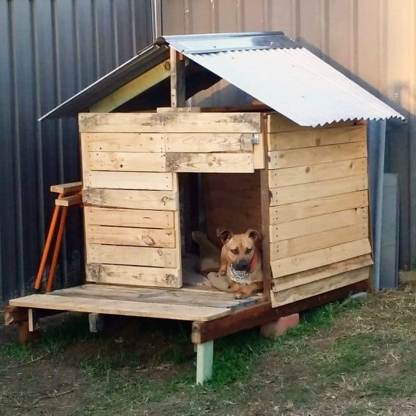 Diy Simple Dog House Ideas Made Out Of Wood