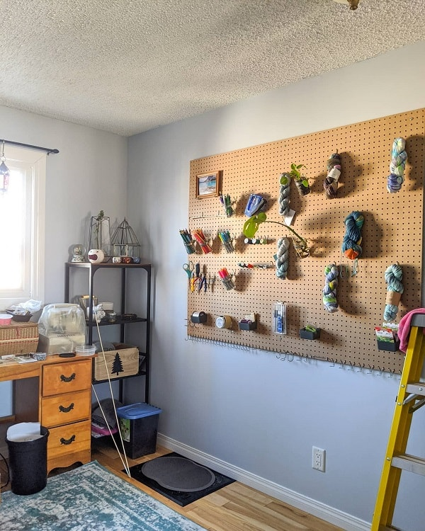Diy Woodwork Art Room Pegboard Ideas Diyeg