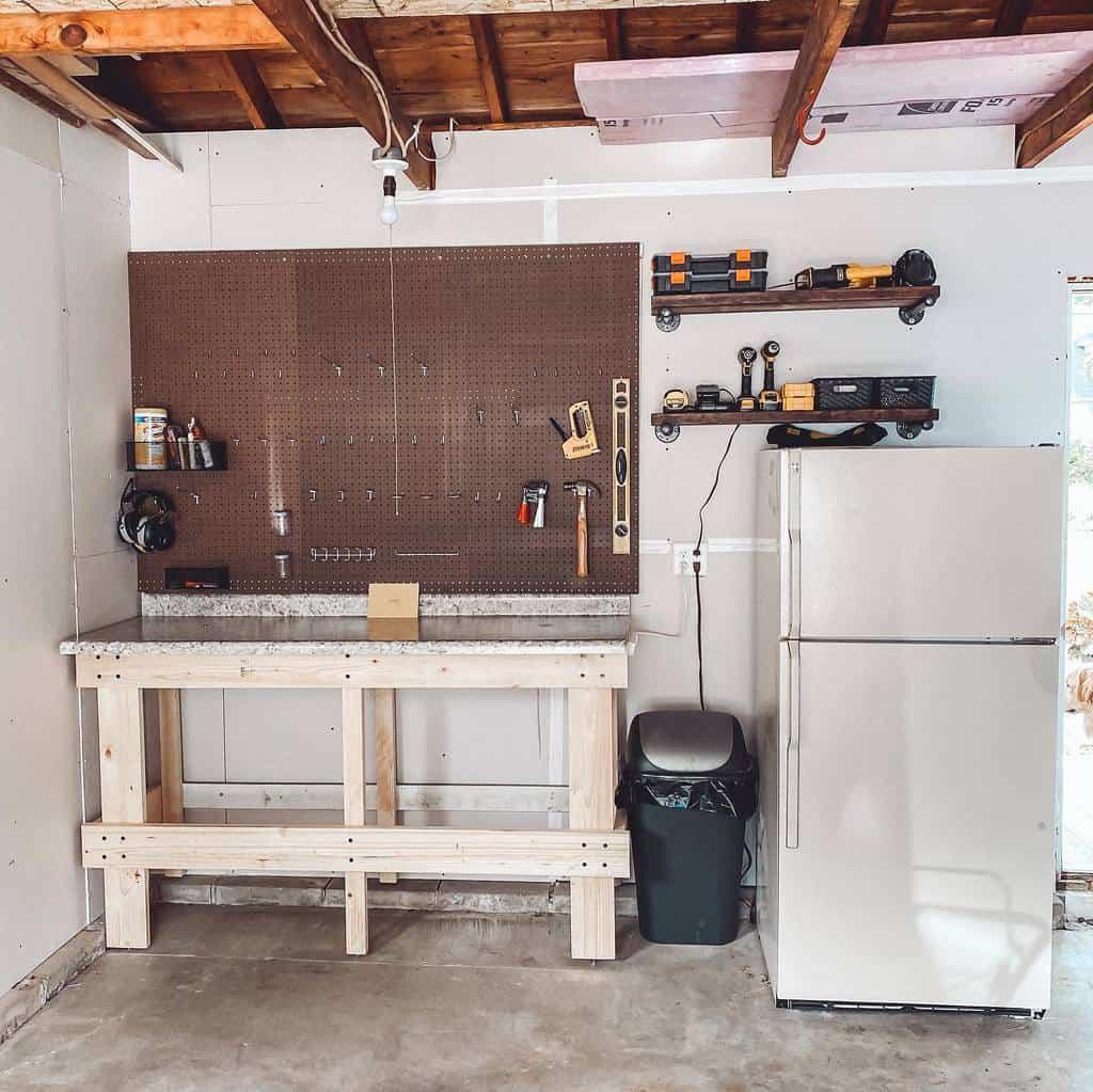 diy work bench ideas housetohome_wi