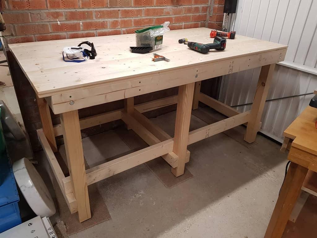 diy work bench ideas rj_rawcreations
