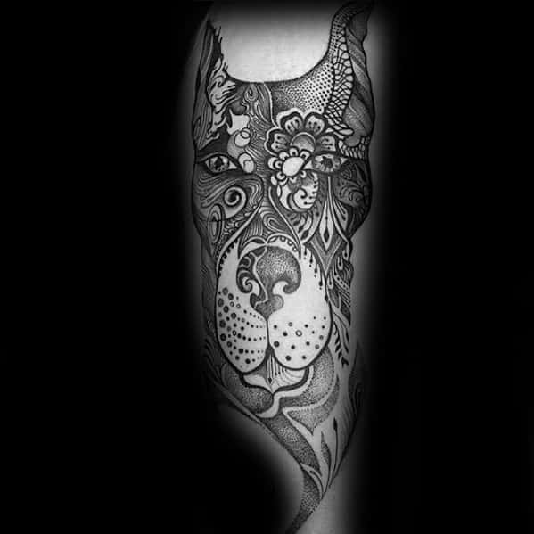 Doberman Guys Dog Tattoo Ideas