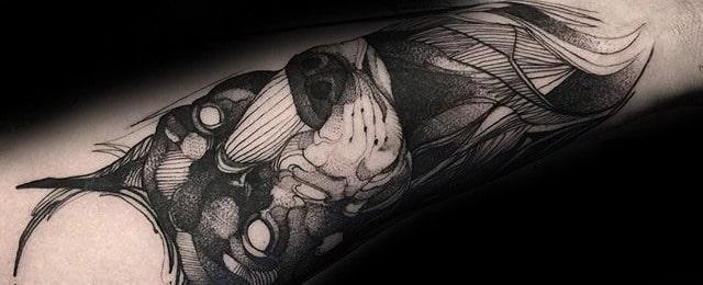 Doberman Tattoo Designs For Men