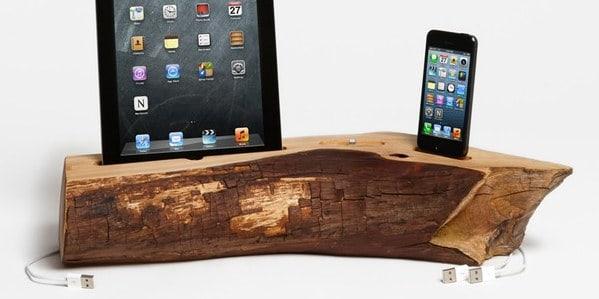 Dock Artisan iPhone iPad Cedar Docking Station