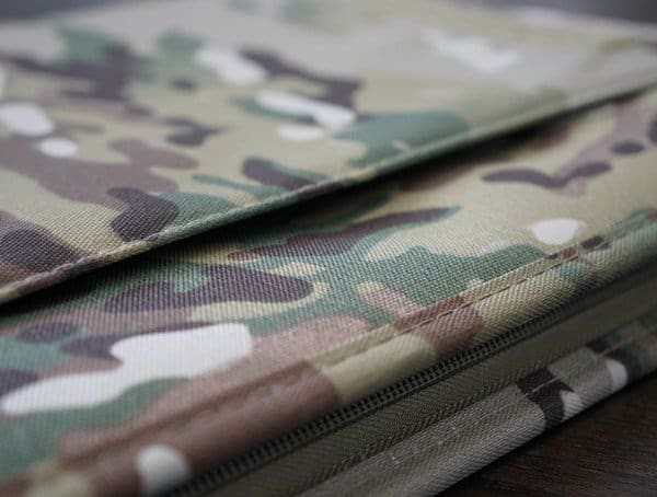 Document Slot Mercury Tactical Zippered Padfolio