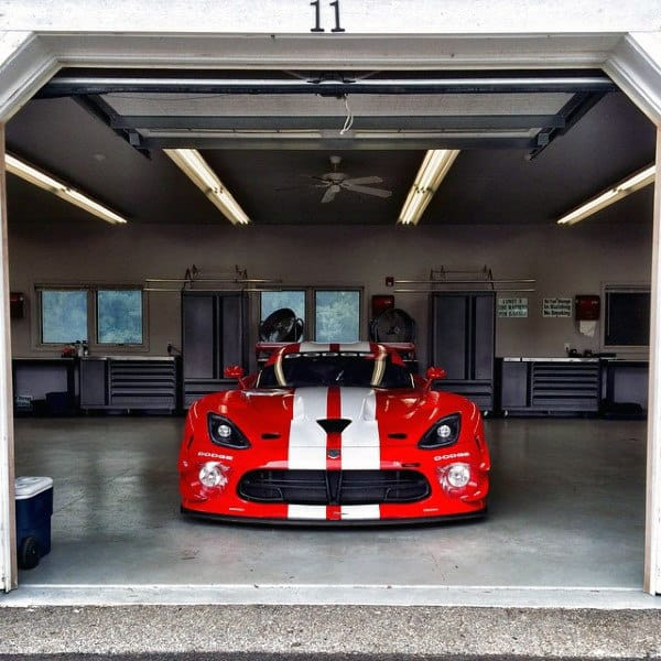 Dodge Viper Mens Home Dream Garage Design