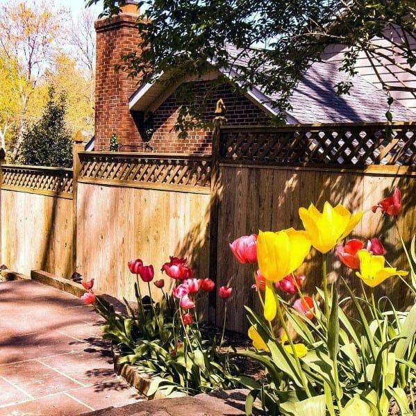 Dog Fence Design Idea Inspiration Wood