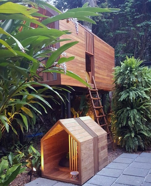 Dog House Designs Wood Construction