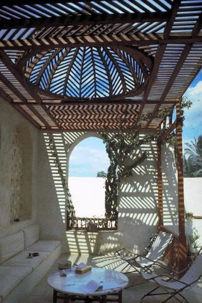 Dome Incredible Ornate Pergola Ideas