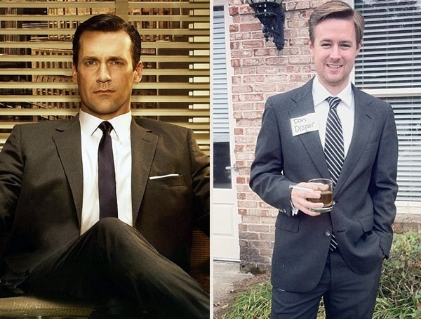 Don Draper Mad Men Best Easy Mens Halloween Costumes