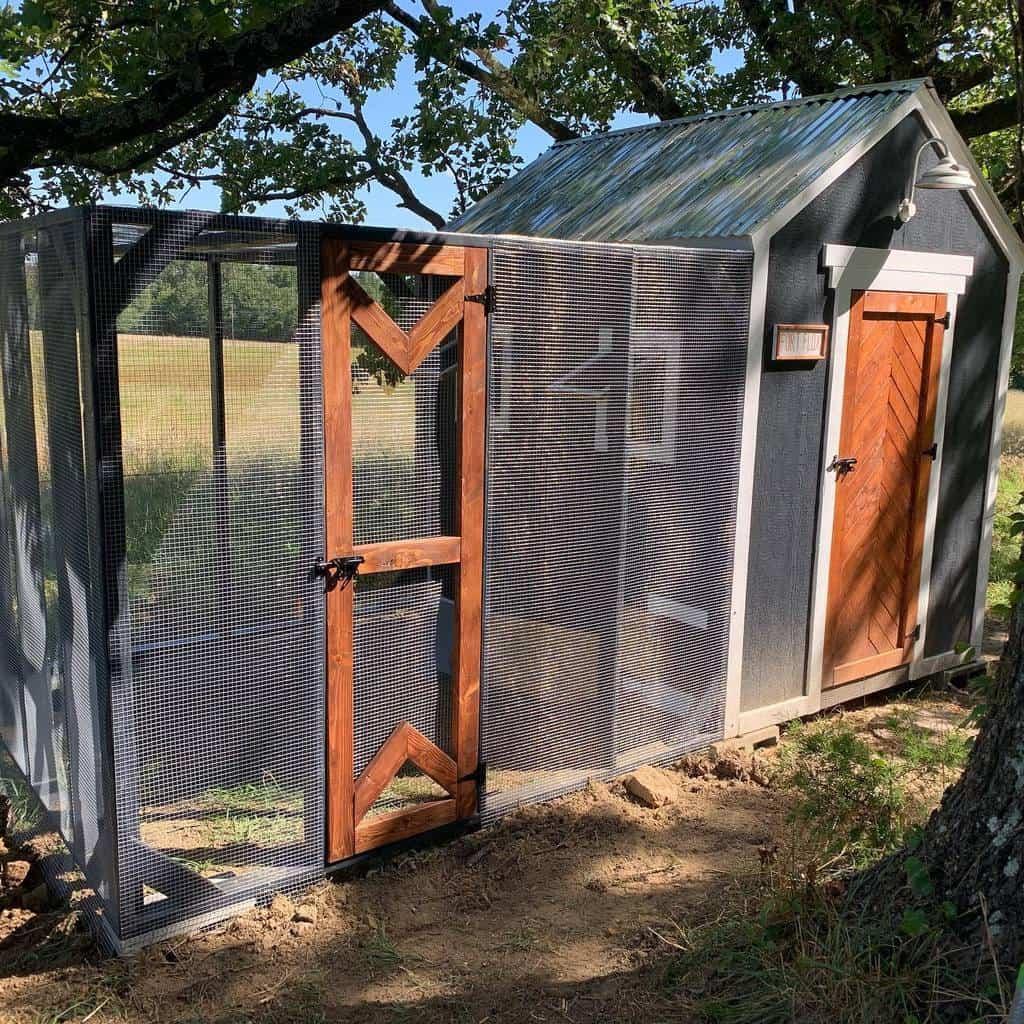door chicken coop ideas sunrise_ranch_ok