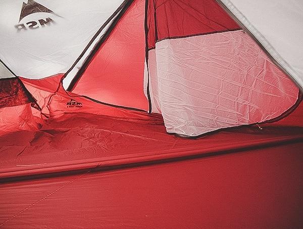 Door Msr Hubba Tour 3 Tent