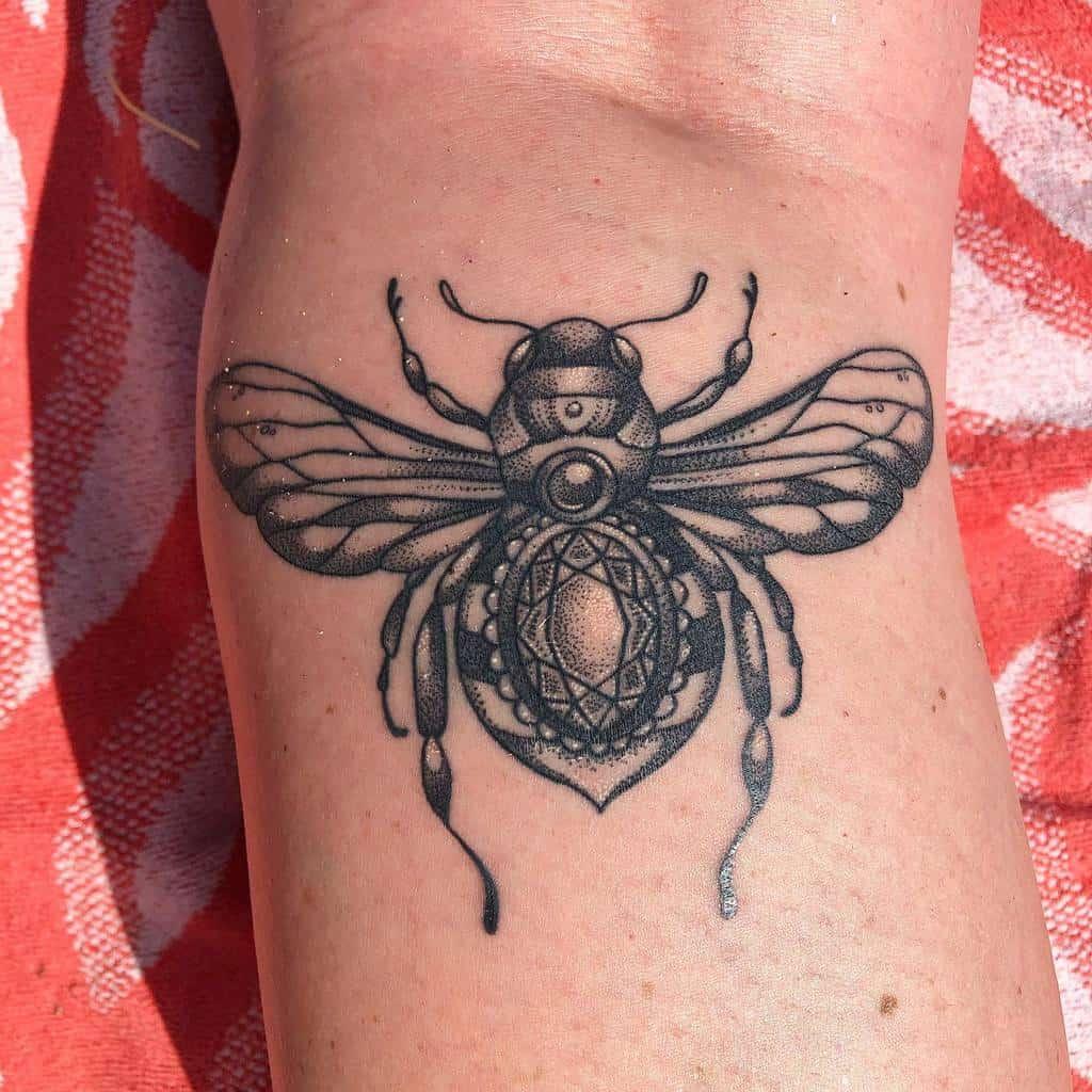 dotwork Cicada Tattoos emilyxlynch