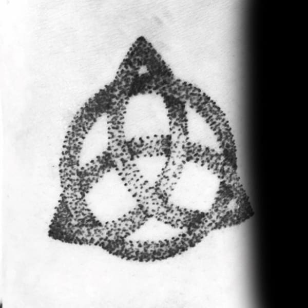 Dotwork Guys Triquetra Small Tattoo Designs