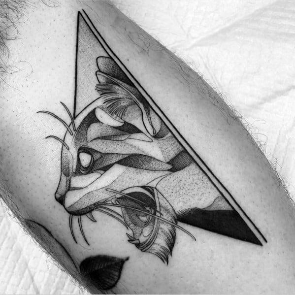 Dotwork Inner Arm Bicep Guys Design Ideas Cat Tattoos
