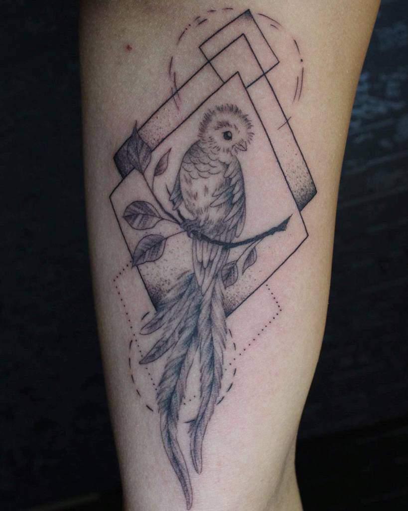 Dotwork Quetzal Tattoos Uhhhhtaco