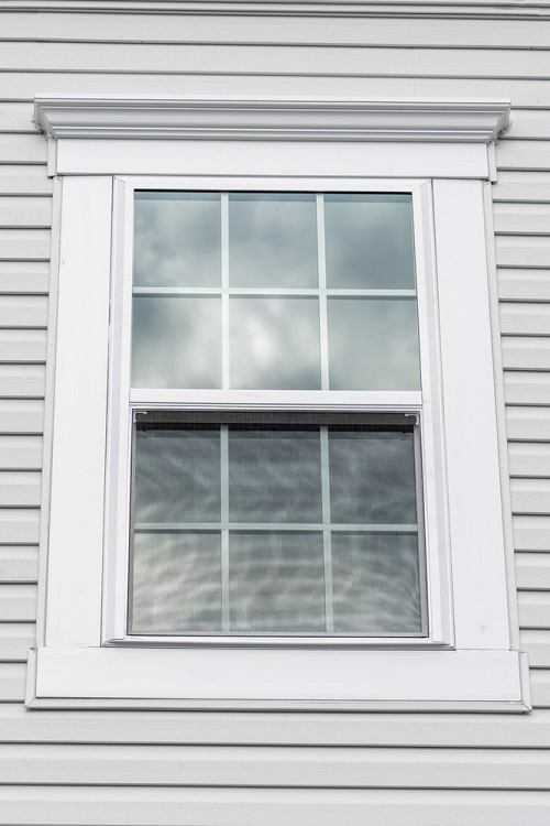 Double Hung Window Exterior Trim For Vinyl Siding