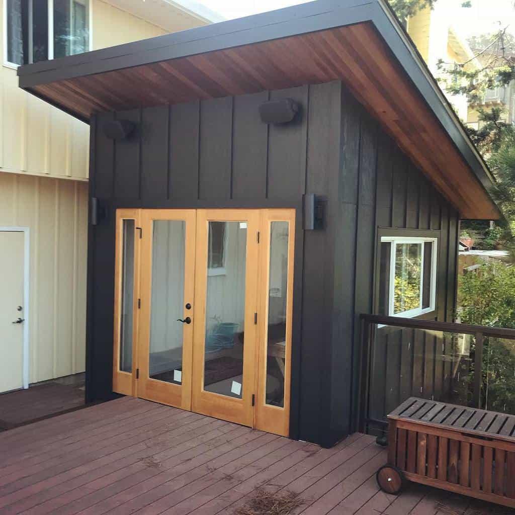 double shed door ideas redwood_builders