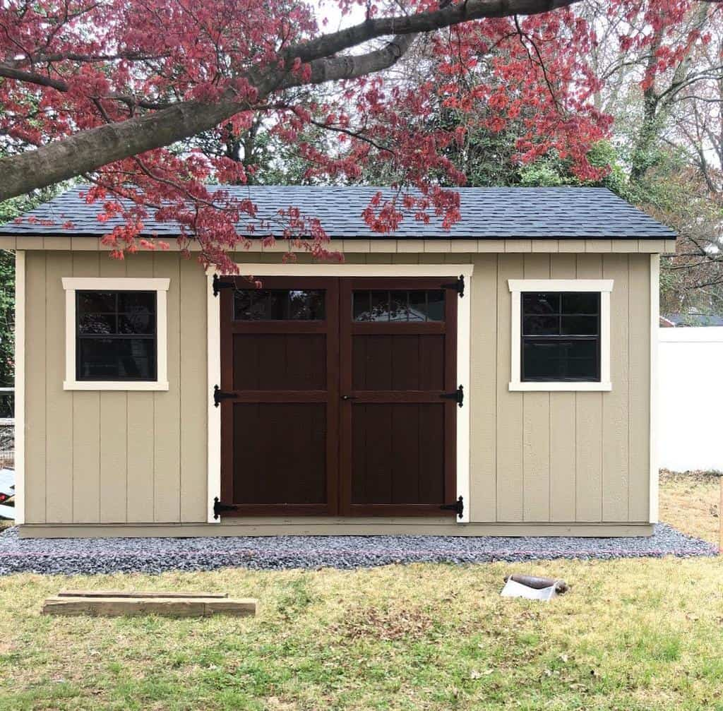 double shed door ideas riehlstructures