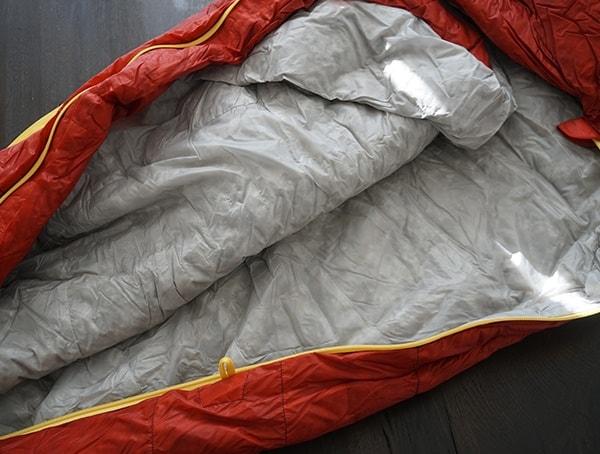 Down Sierra Designs Nitro 800 20 Degree Sleeping Bag Interior