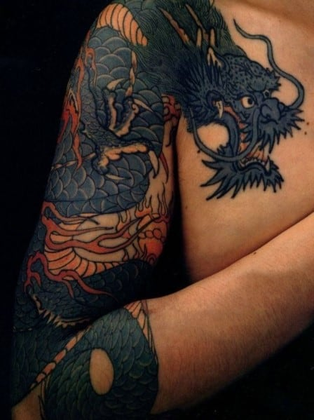 Dragon Arm Tattoo For Men