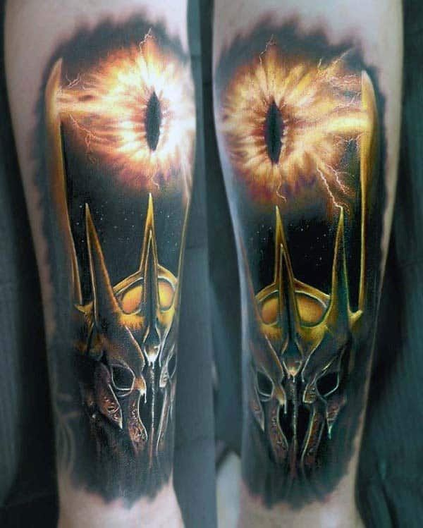 Dragon Eye Extreme Guys Forearm Tattoo