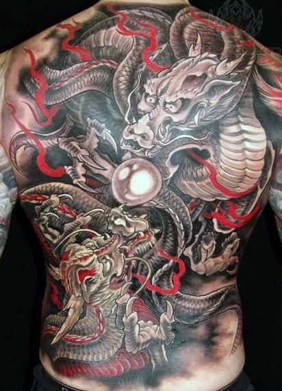 Dragon Sleeve Tattoos For Men