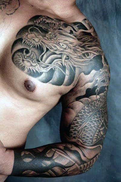 Dragon Tattoo Design Ideas For Males
