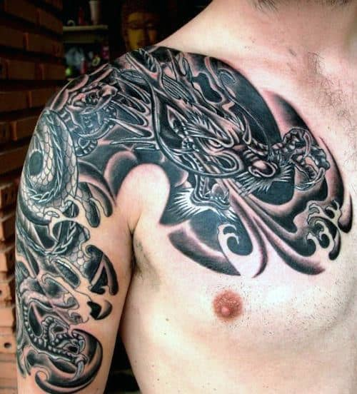 Dragon Tattoos Designs For Men